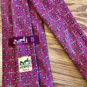 Hermès Paris Silk Luxury Tie